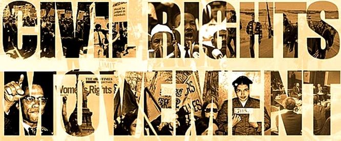 Civil Rights Movement banner