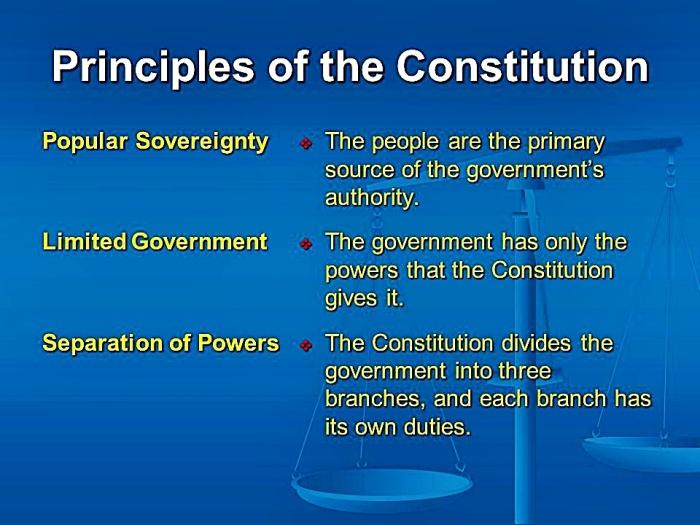 Constitution Principles