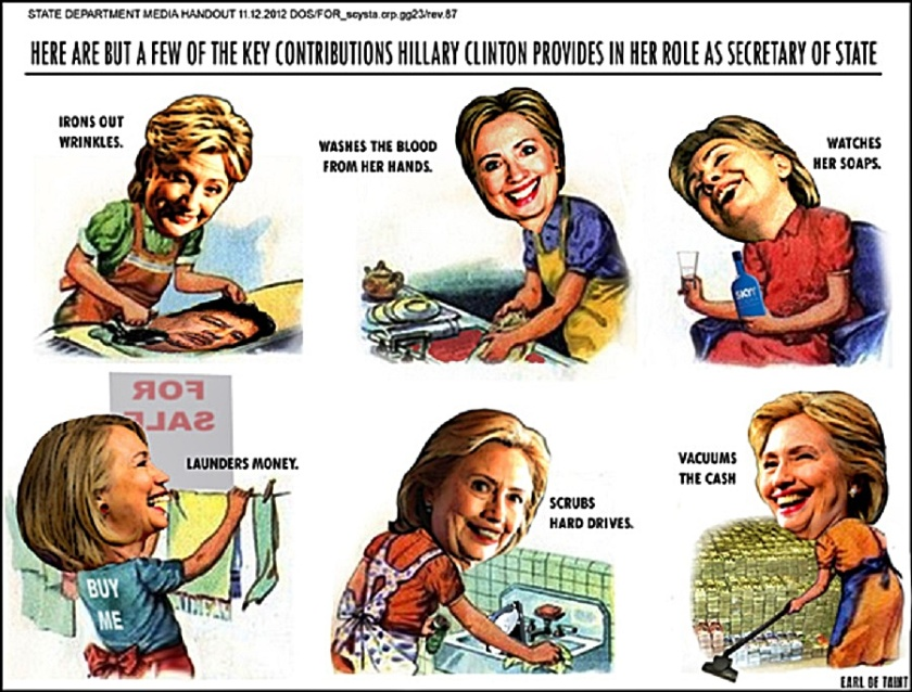Hillary Sec-State Contributions