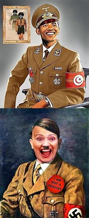 Hitler- BHO & Hillary