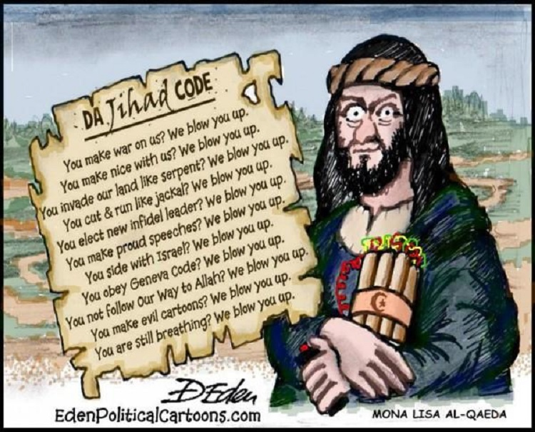 Jihad Code - We blow you up toon