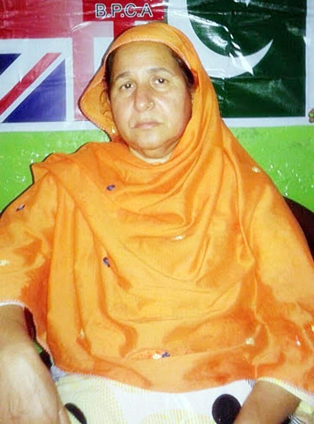 Mussarat Mushtaq - mother of Christian kidnap victim