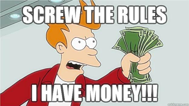 Simpsons- Screw Rules I got Money