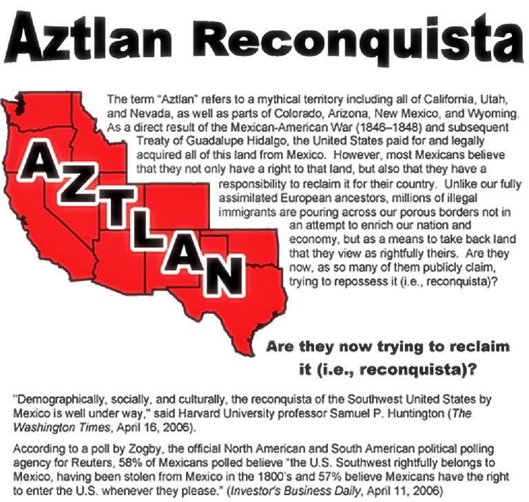 Aztlan Reconquista info