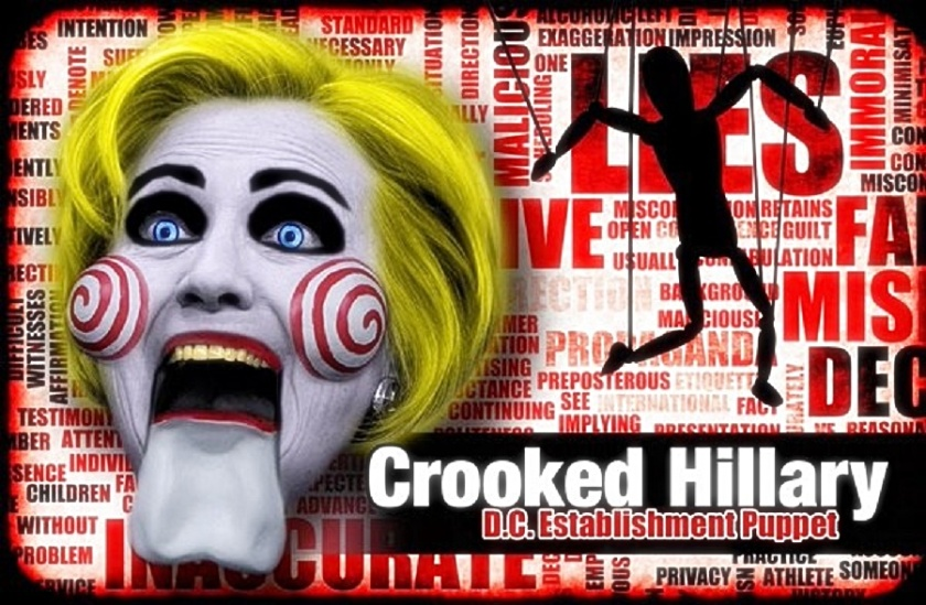 Crooked Hillary Lies