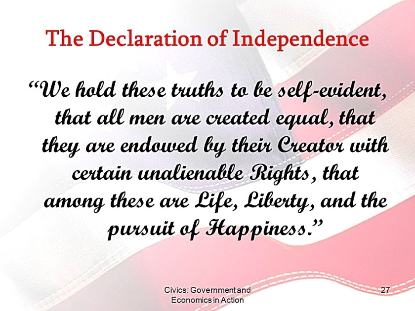 Decl of Independence
