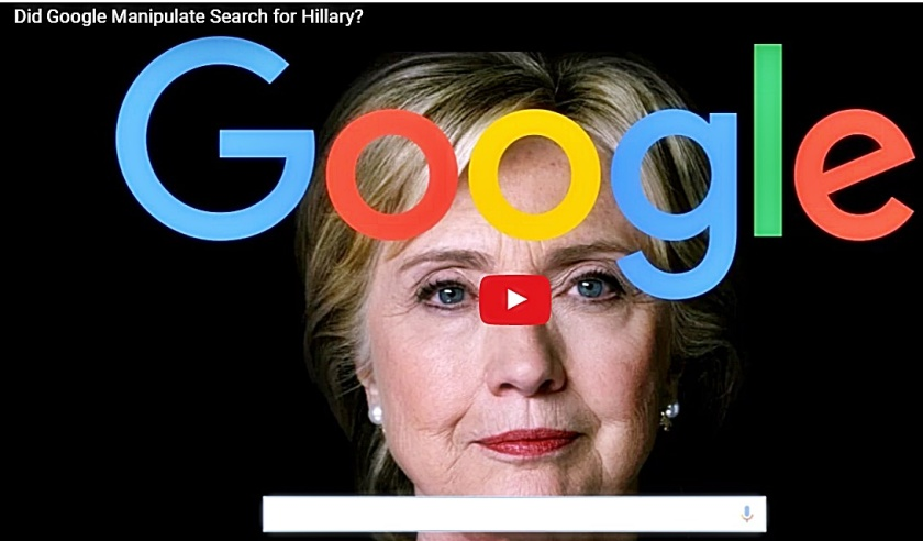 Hillary-Google Screen Capture
