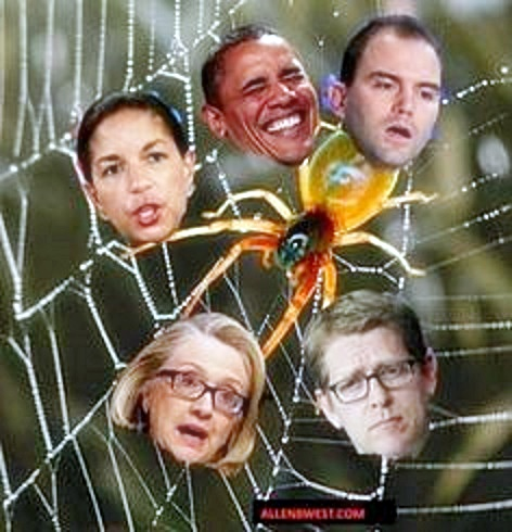 Obama web of deception