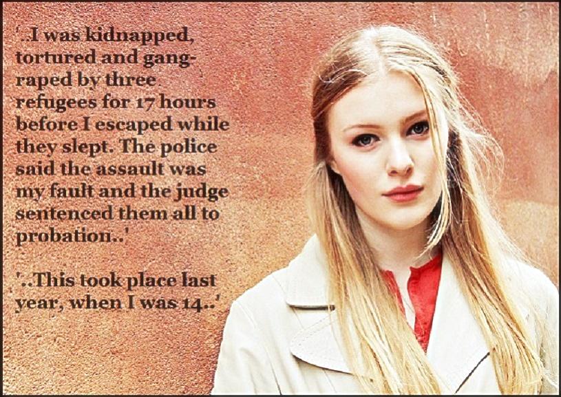 Swedish Rapeugee Victim