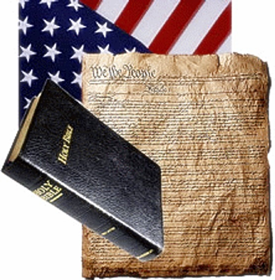 Flag, Constitution & Bible