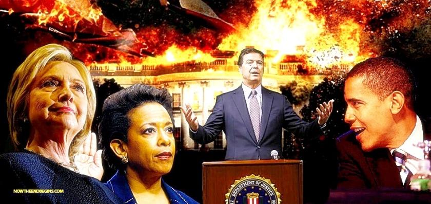 Hillary-Lynch-Comey-BHO White House Corruption