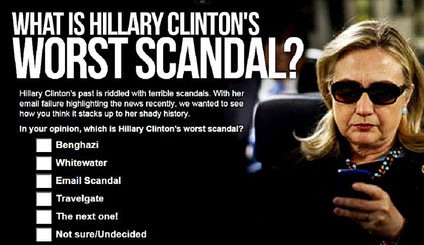 Hillary Short Scandal List
