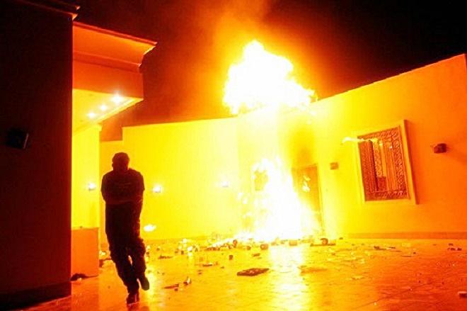 Benghazi Burning