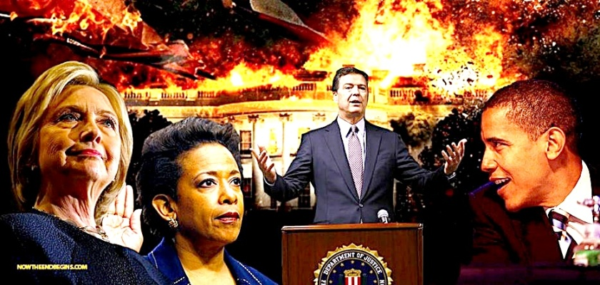 Corruption- Hillary, Lynch, Comey & Obama