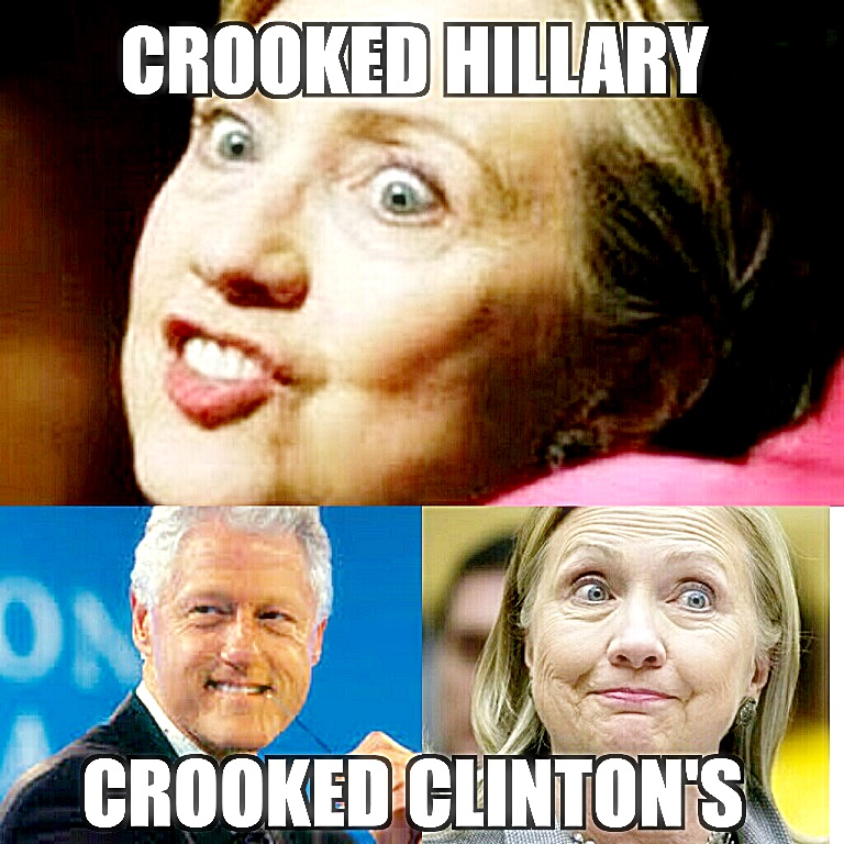 Croolrd Hillary - Crooked Clintons