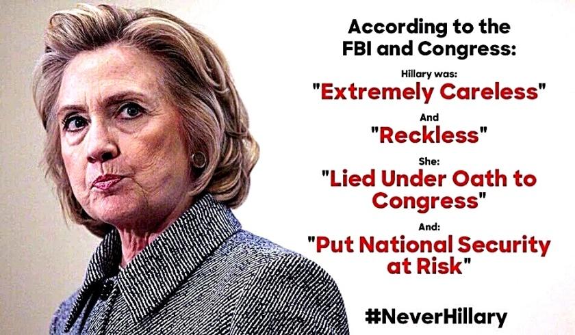 Hillary According to FBI