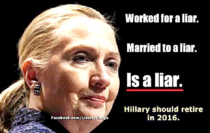 Hillary- Worked for, Married to & IS a LIAR