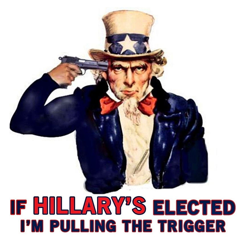 If Hillary Elected -  Uncle Sam Dies