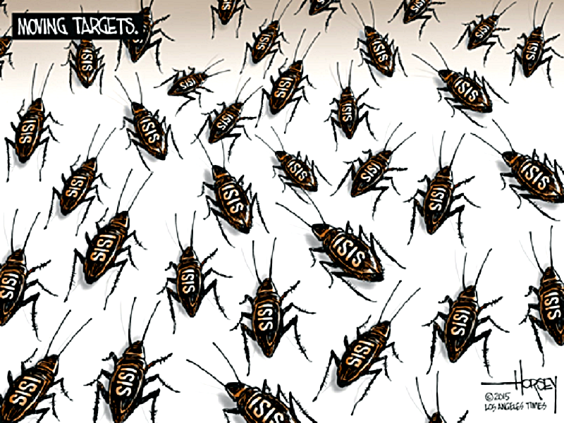ISIS Cockroaches