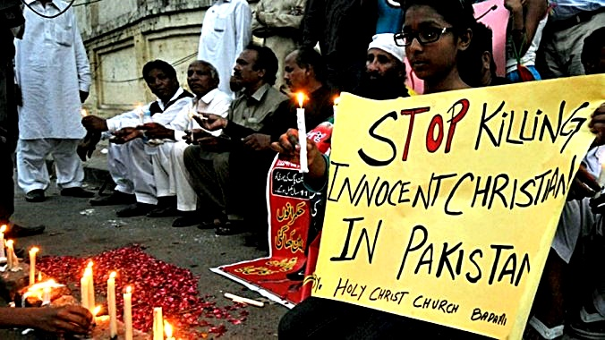 Stop KILLING cHRISTIANS IN Pakistan
