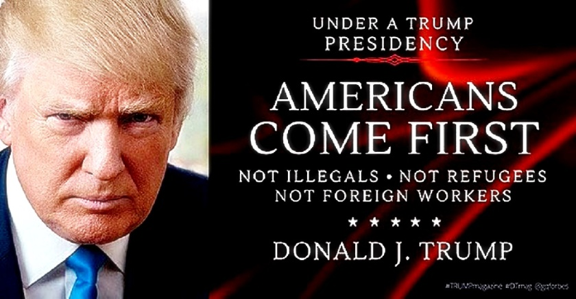 Trump- Americans Come 1st NOT ...