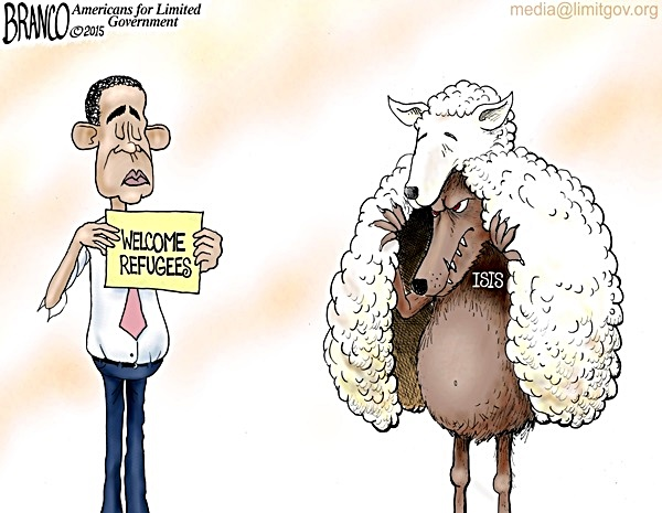 bho-welcome-refugee-wolf-sheep-clothing-toon