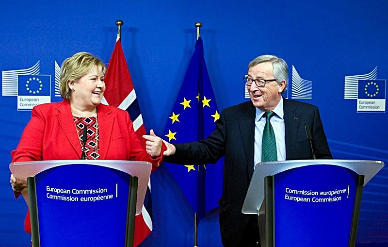 norwegian-prime-minister-erna-solberg-european-commission-president-jean-claude-juncker