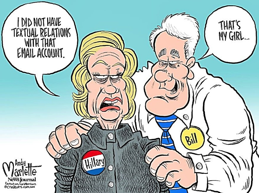 bill-congrats-hillary-no-text-relations-toon