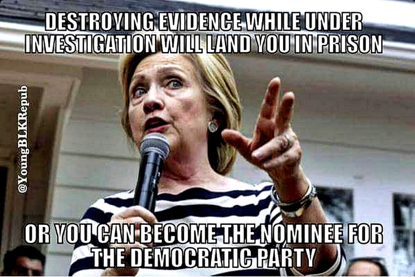 evidence-destruction-means-jail-unless-u-r-hillary