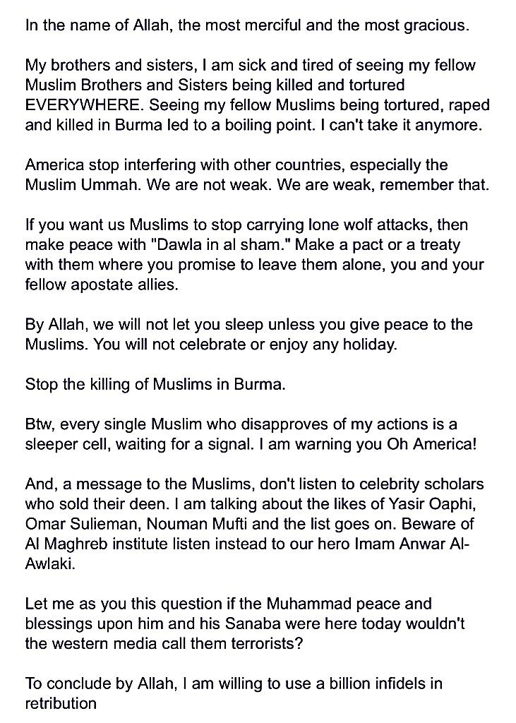 abdul-razak-ali-artan-facebook-islamic-supremscism