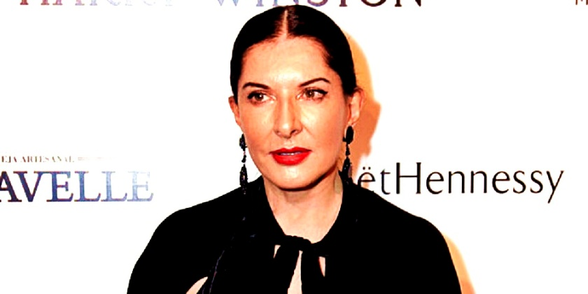 SAO PAULO, BRAZIL - APRIL 10: Marina Abramovic attends the 5th Annual amfAR Inspiration Gala at the home of Dinho Diniz on April 10, 2015 in Sao Paulo, Brazil. (Photo by Fernanda Calfat/Getty Images for amfAR)