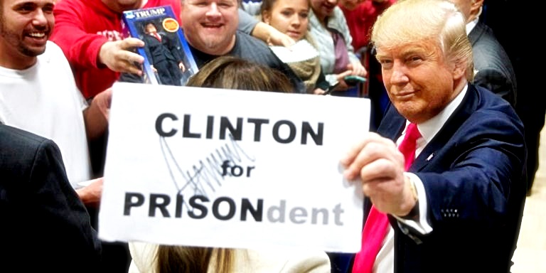 trump-holding-sign-clinton4prison