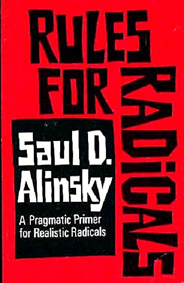Image result for saul alinsky rules for radicals