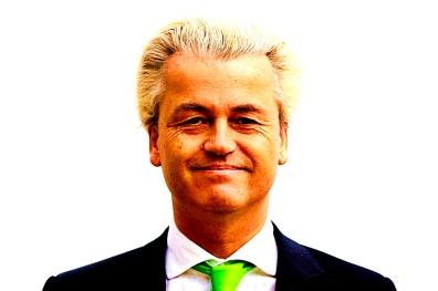 Wilders brengt stem uit voor Europese verkiezingen