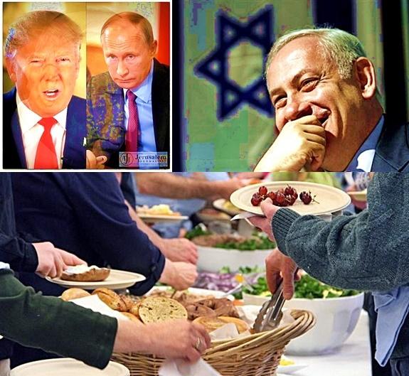 Trump, Putin & Netanyahu -- Shabbat Meal