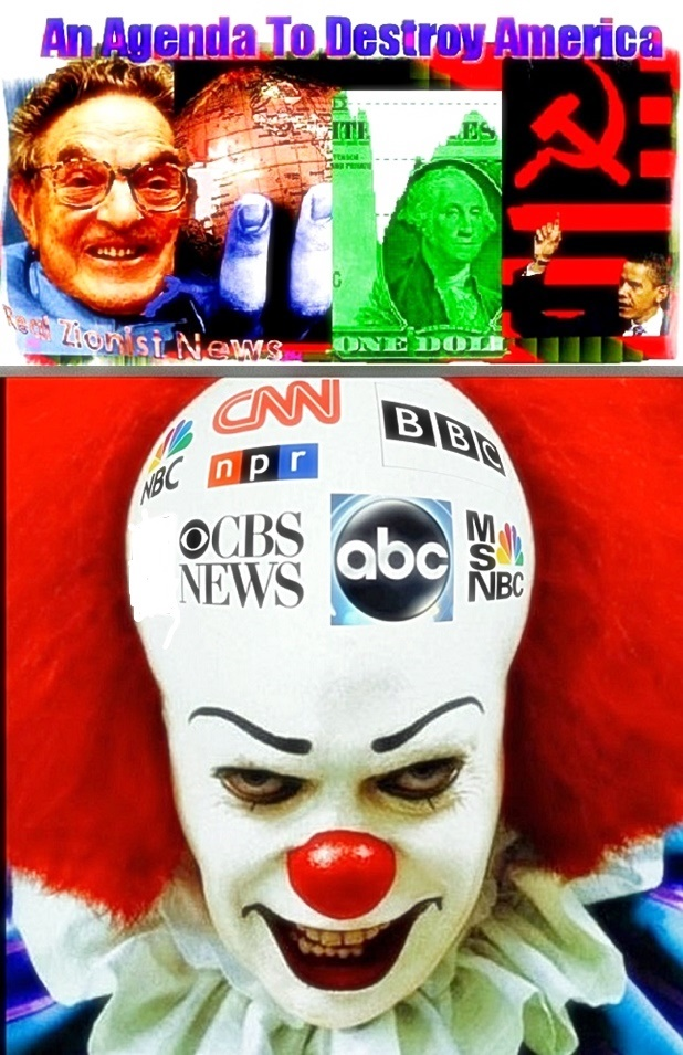 Left Agenda to Destroy America-Clown Stream America