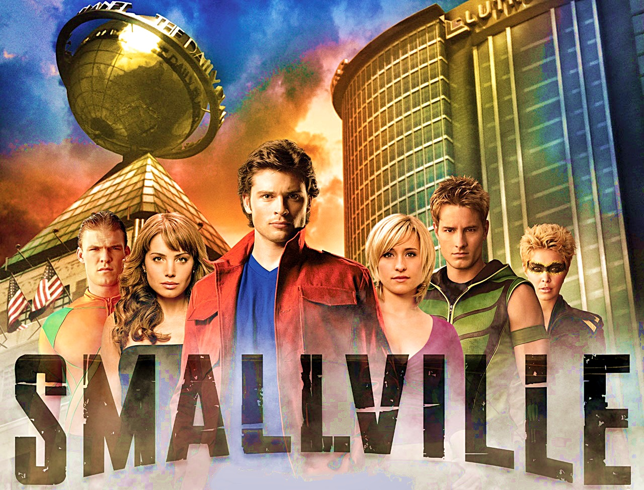 Smallville cast poster 2008